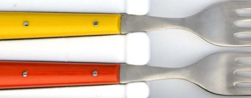 Tissu compressé = manche coloré