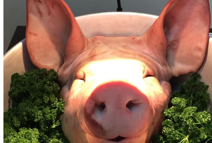 Amicale du gras: un menu bien cochon!