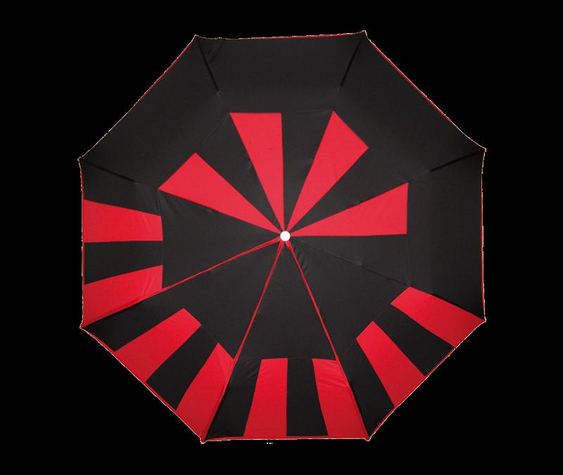 Des parapluies près de Nontron