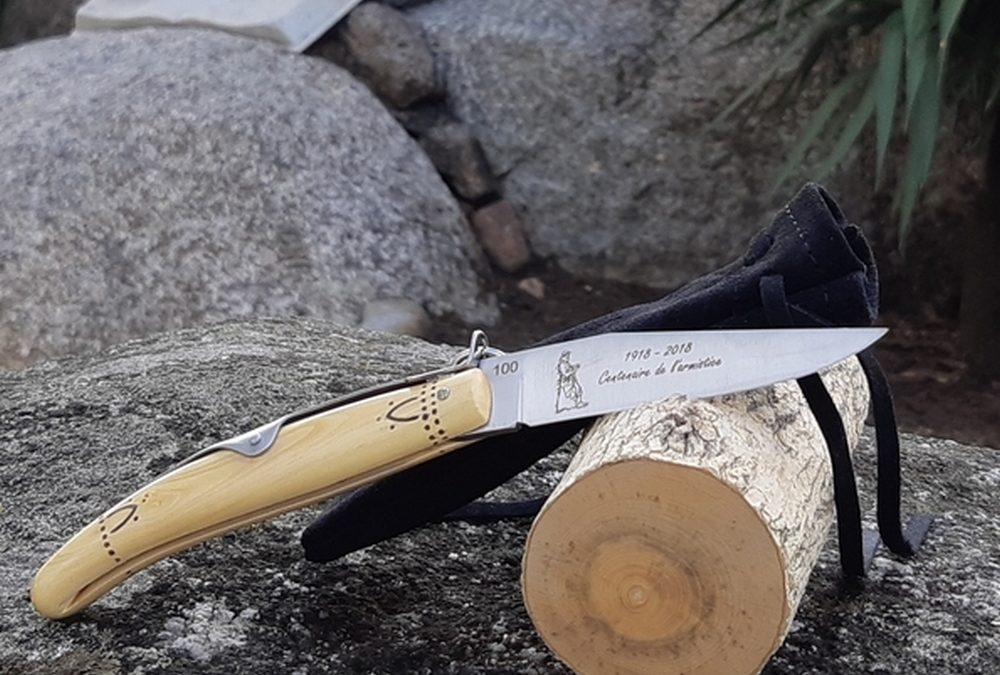 Un couteau Nontron de Collection Grande Guerre, hommage aux Poilus