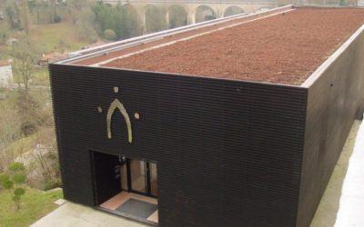 Le bâtiment de la coutellerie, symbole de Nontron