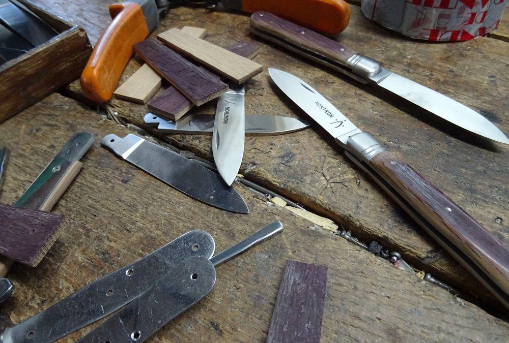 couteau nontron poulvère fabriqué en France