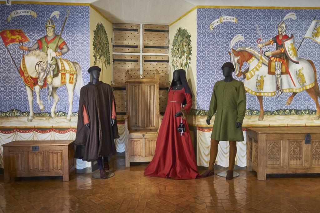 La légende des 9 preux à Castelnaud près de Nontron