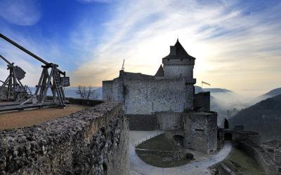 Le château de Castelnaud et la légende des neuf preux