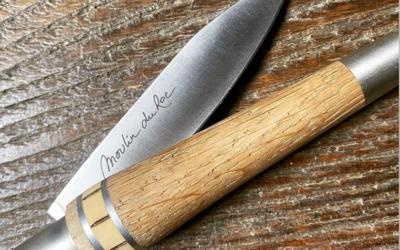Un couteau Nontron exclusif pour les hôtes du Moulin du Roc