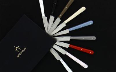 Nouvelles matières et nouvelles couleurs pour les couteaux Nontron Office !