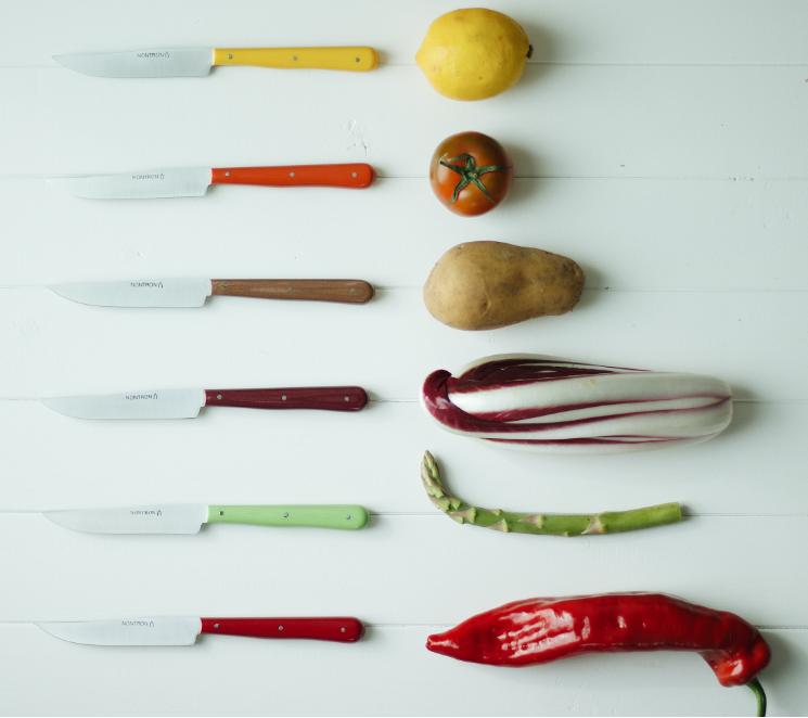 couteaux de Nontron pour recettes d'asperge de Dordogne