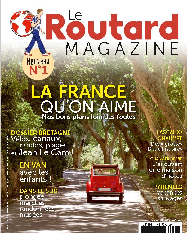 premier magazine du routard