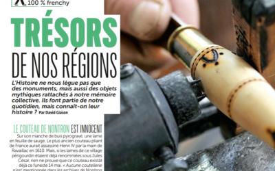 Le couteau de Nontron dans le Magazine du Routard