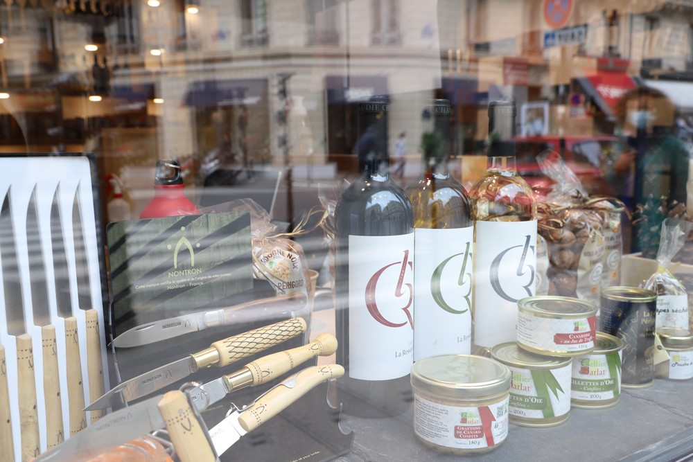 couteaux de nontron à la maison de la nouvelle aquitaine à Paris